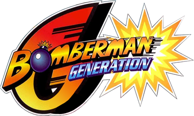 Bomberman Generation - Clear Logo