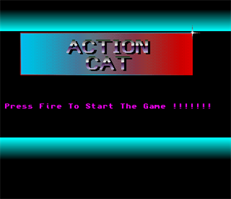 Action Cat - Screenshot - Game Title