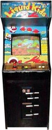 Liquid Kids - Arcade - Cabinet