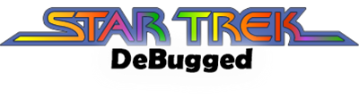 Star Trek Debugged - Clear Logo