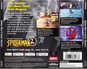 Spider-Man 2: Enter Electro - Box - Back