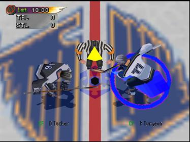 NHL Blades of Steel '99 - Screenshot - Gameplay