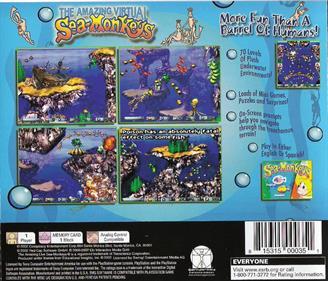 The Amazing Virtual Sea-Monkeys - Box - Back