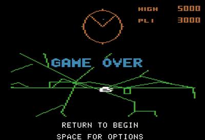 Battlezone - Screenshot - Game Over