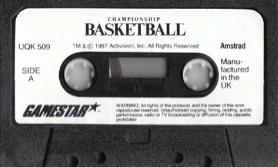 GBA Championship Basketball: Two-on-Two - Cart - Front