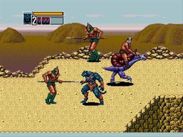 Golden Axe III - Screenshot - Gameplay