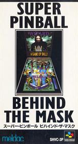 Super Pinball: Behind the Mask - Box - Front
