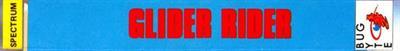 Glider Rider - Banner