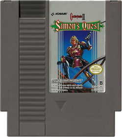 Castlevania II: Simon's Quest - Cart - Front