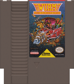 Wurm: Journey to the Center of the Earth - Cart - Front