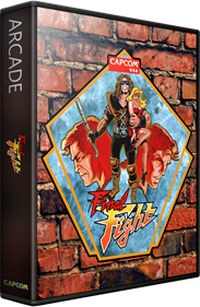 Final Fight - Box - 3D
