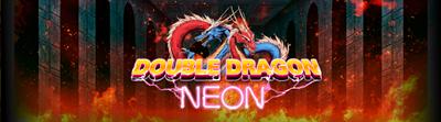 Double Dragon Neon - Arcade - Marquee