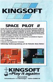 Space Pilot 2 - Box - Back