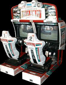 Sega Rally 2 Championship - Arcade - Cabinet