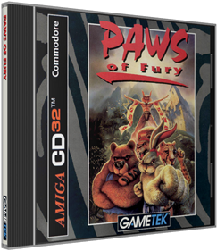 Brutal: Paws of Fury - Box - 3D