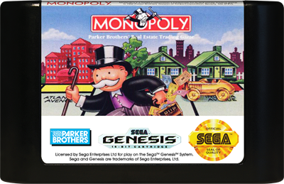 Monopoly - Cart - Front