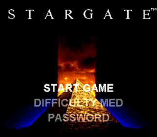 Stargate - Screenshot - Game Title