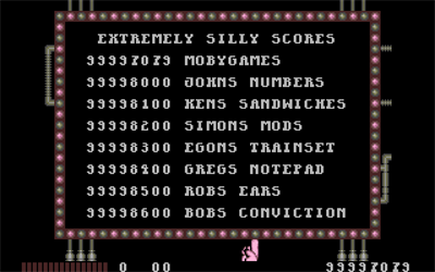 Monty Python's Flying Circus: The Computer Game - Screenshot - High Scores