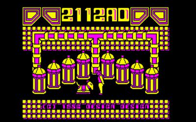 2112 AD - Screenshot - Game Title
