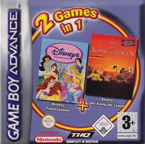 2 Games in 1 Double Pack: Disney Princess & The Lion King