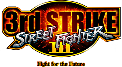 Street Fighter III: 3rd Strike: Fight for the Future - Clear Logo