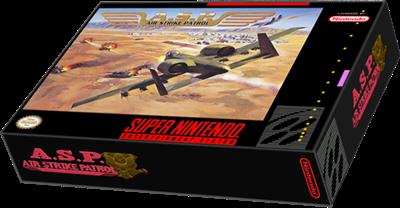 A.S.P.: Air Strike Patrol - Box - 3D
