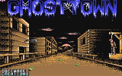 GhostTown - Screenshot - Game Title