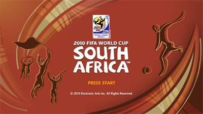 2010 FIFA World Cup South Africa - Screenshot - Game Title