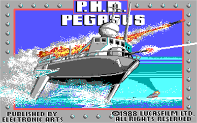 PHM Pegasus - Screenshot - Game Title