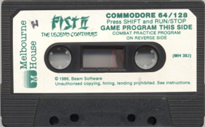 Fist: The Legend Continues - Cart - Front