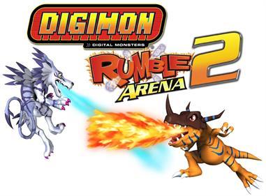 Digimon Rumble Arena 2 - Fanart - Background