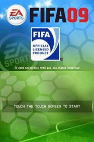FIFA 09 - Screenshot - Game Title