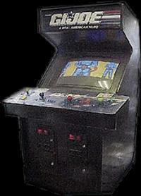 G.I. Joe - Arcade - Cabinet
