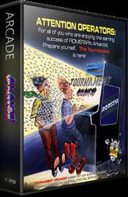 Tournament Arkanoid - Box - 3D