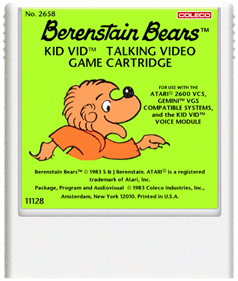 Berenstain Bears - Cart - Front