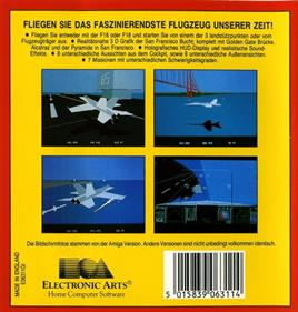 F/A-18 Interceptor - Box - Back