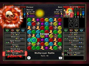 Puzzle Quest: Challenge of the Warlords - Screenshot - Gameplay
