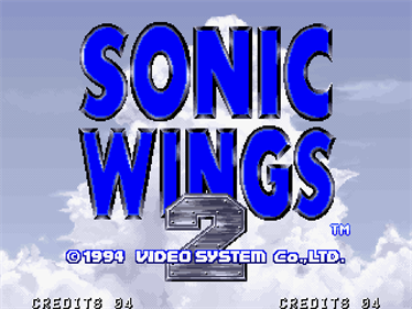 Aero Fighters 2 - Screenshot - Game Title