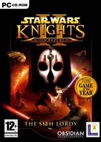 Star Wars: Knights of the Old Republic II: The Sith Lords - Box - Front