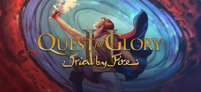 Quest for Glory II: Trial by Fire - Banner