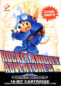 Rocket Knight Adventures - Box - Front