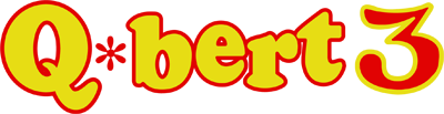 Q*bert 3 - Clear Logo
