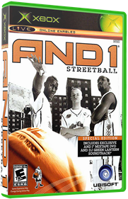 AND 1 Streetball - Box - 3D