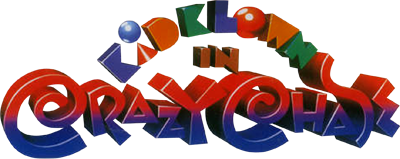 Kid Klown in Crazy Chase - Clear Logo