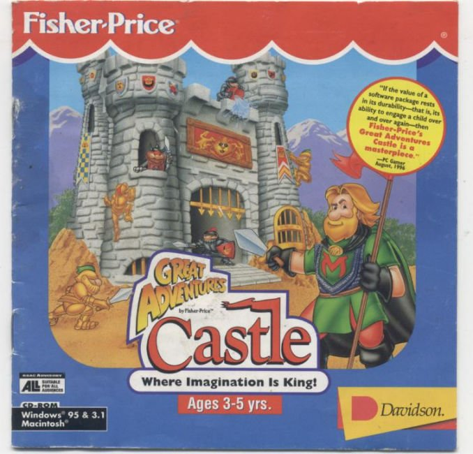 Fisher Price Great Adventures Castle Details Launchbox Games Database
