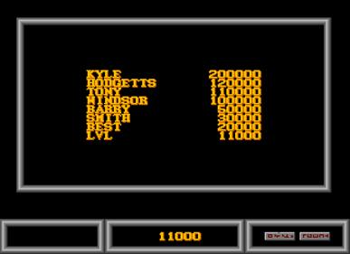 Alpha-1 - Screenshot - High Scores