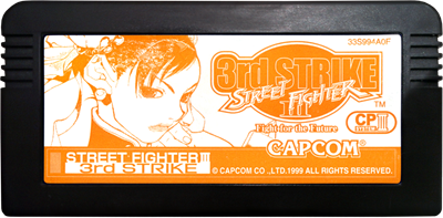 Street Fighter III: 3rd Strike: Fight for the Future - Cart - Front