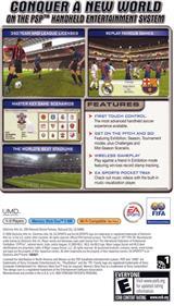 FIFA Soccer - Box - Back