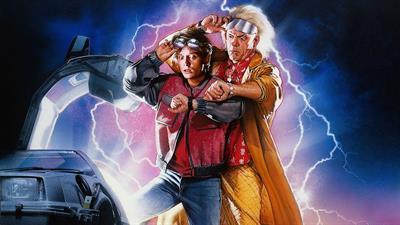 Back to the Future Part II & III - Fanart - Background