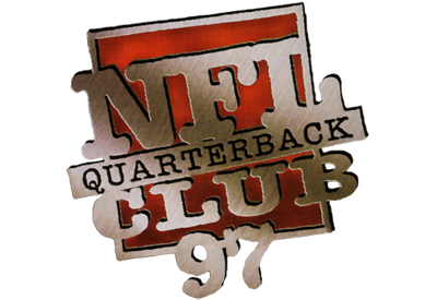 NFL Quarterback Club 97 - Clear Logo